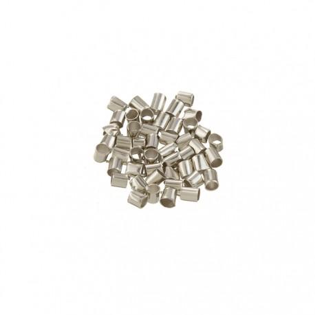 Crimp Tubes Sterling Silver 2mm