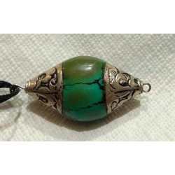 Turquoise Bead from Nepal