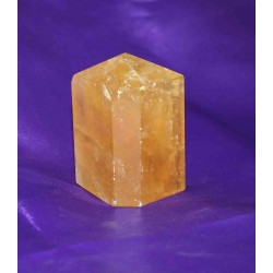 Golden Calcite Crystall