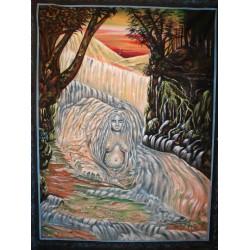"""Πίνακας """"Μητέρα Φύση """" απο Ινδία"""