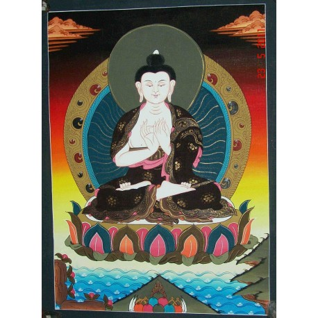 Buddha Shakyamuni Thangka