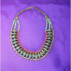 Handmade Necklace in Silver 925 from Nepal