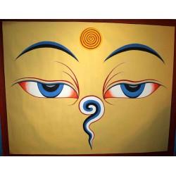 Eyes Of Buddha Thangka