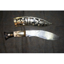 Traditional Khukhuri Knife From Nepal.