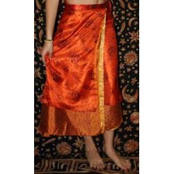 """Silk Skirt """"Wrap Around """" type"""