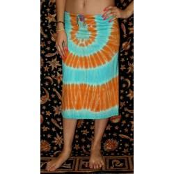 Cotton Skirt Tie Dye