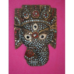 Bronze Mask From India
