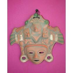 Ceramic Mask From Ecuador