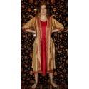 Silk Kurta Caftan Dress From India