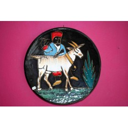 Ceramic plate from Tunisia