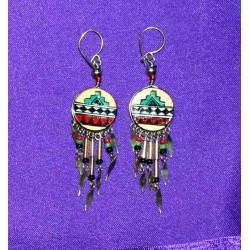 Σκουλαρίκια απο Περού
