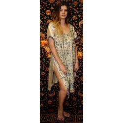 Μεταξωτό Φόρεμα Καφτάνι Κούρτα από Ινδία