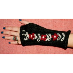 Μάλλινα Γάντια με επένδυση από Νεπάλ