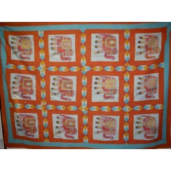 Embroidered Handmade Bedcover