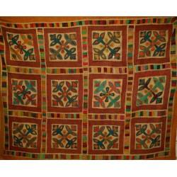 Patchwork Handmade Bedcover
