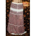 Boho Long Skirt Free Size