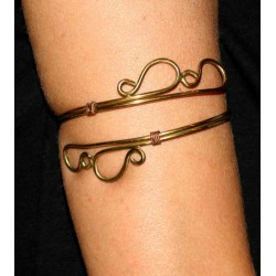 Brass Arm Bracelet
