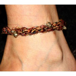 Silk Thread Ankle Bracelet