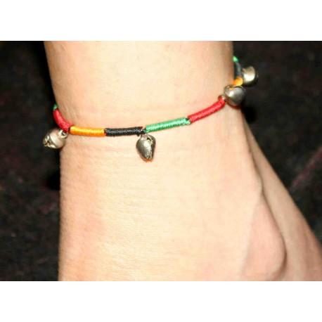 Silk Thread Ankle Bracelet