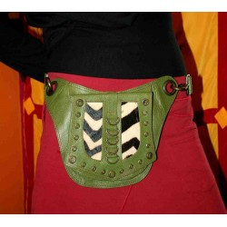 Leather Waist bag / Money Belt