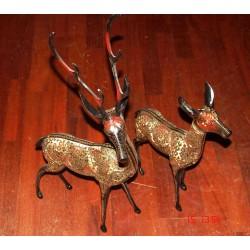 Bronze Deers from India