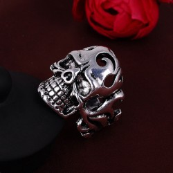 Skull Stainless Steel Ring