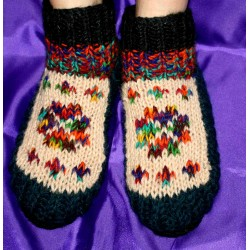 """Woolen """"socks"""" with Insulation , from Nepal"""