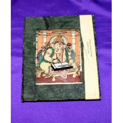 Recycled Paper & samiprecious stones Notebook