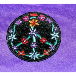Patch embroidered
