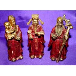 Φενγκ Σουι 3 Θεότητες Φου Λου Σαου