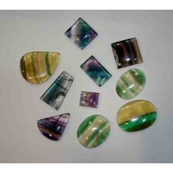 Fluorite Cabochons