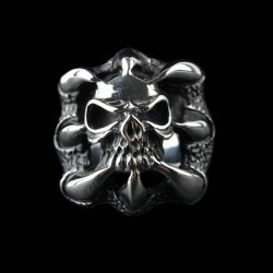 Claws and Skull Ring