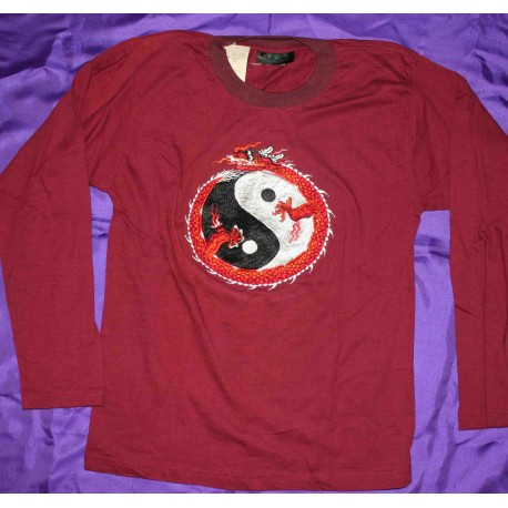 Embroidered T-shirts Long Sleeve