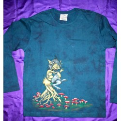Airbrush Painted T-shirts Long Sleeve
