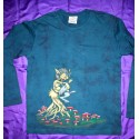 Airbrush Painted T-shirts Long Sleeve