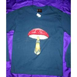 T-Shirt Αερογράφος Μακρύ Μανίκι