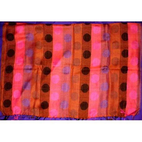 Βαμβακερό Φουλάρι / Εσάρπα από Ινδία Μακρόστενο