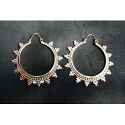 Handmade Earring in Βrass