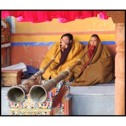 Telescopic Trumpet ZUNGS DUNGfrom Nepal