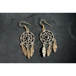 Handmade Earring in Βrass