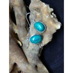 Turquoise Handmade Earring in Silver