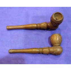 Wooden Pipe 13cm
