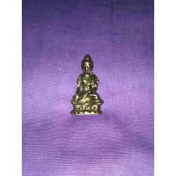 Bronze Miniature statue Lord Buddha