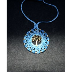 Macrame Necklace Tree of Life