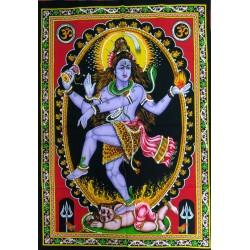 Lord Shiva Nataraj Painting from India.