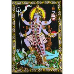 Kali Painting from India.
