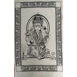 Lord Ganesha Painting from India.