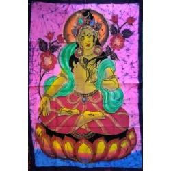 Τάρα Ζωγραφική Μπατίκ σε Υφασμα απο Ινδία