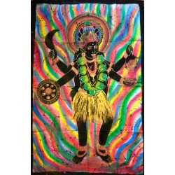 Kali Βatik Painting from India.