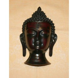 Buddha Resin Mask From Nepal
